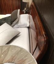 实木床乌金木双人床1.8米婚床现代中式简约气动高箱储物原木大床