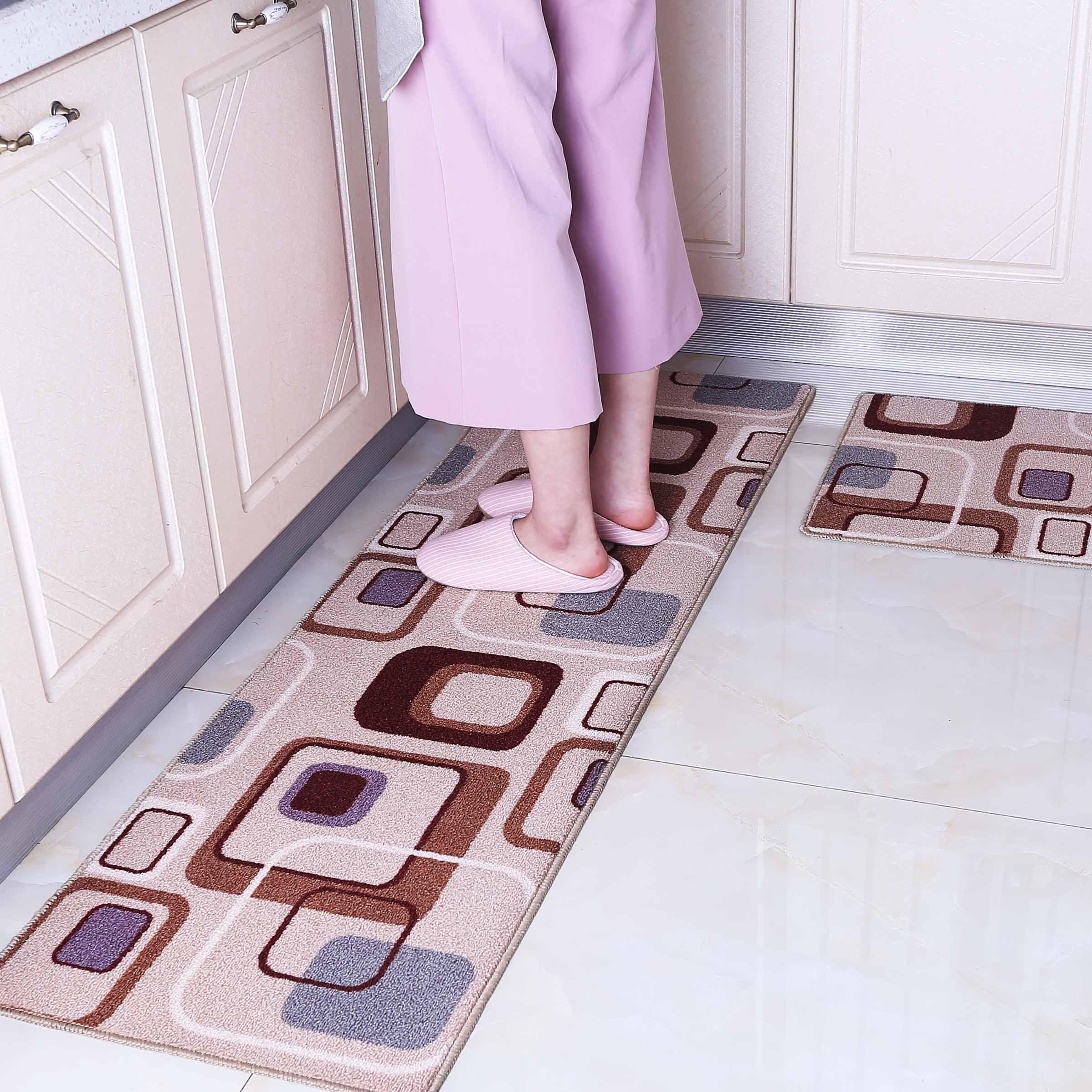 廚房地墊防滑吸水長條腳墊浴室門墊臥室床邊毯飄窗墊陽台推拉門墊