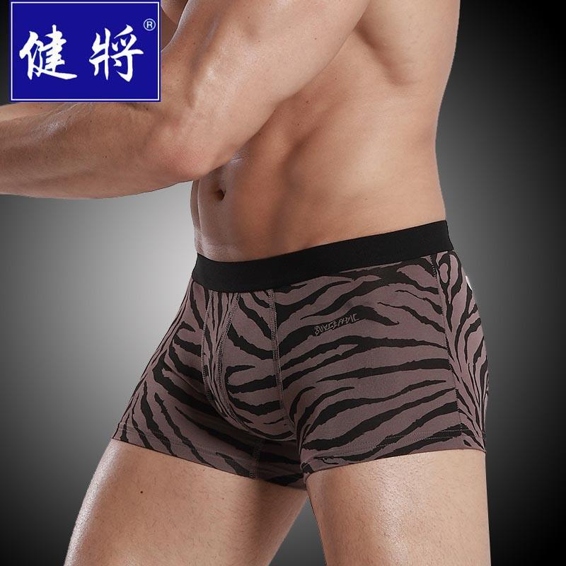 健将薄款男士平角内裤男式男生平脚裤四角裤衩四脚底裤短裤头内衣
