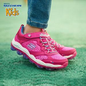 Skechers斯凯奇轻便女童鞋 儿童休闲运动鞋 时尚可爱跑步鞋81295