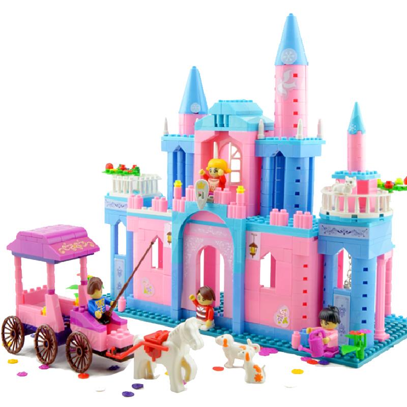 邦宝积木 儿童益智玩具塑料拼插积木女孩拼插拼装玩具5-8-10岁