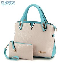 YaNi dream euramerican fashion female package The new winter handbags Color killer bump one shoulder bag bag, 773