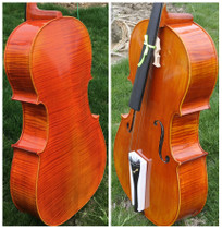 4 4 3 4 2 4 high-grade all-hand natural tiger-grain cello imported material for adults with handmade cello