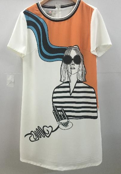 茵佳妮年夏季新款专柜正品连衣裙1172-1801016吊牌价299元