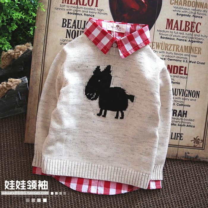 2015 Весна одежда Детская Одежда для мальчиков и весна загружена внешняя торговля хлопок Детские свитера детей свитер пальто