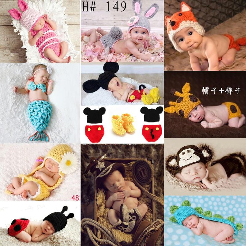 Ручной работы стрельба реквизит новорожденных ребенок фотография фото одежда сто дней ребенок фотографировать шляпа головной убор