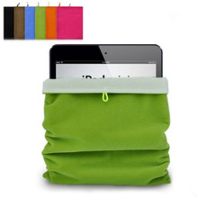 IPad1 bladder bag ipad4 flannelette bags cloth covers the air3 cases mini2 silicone receive bag