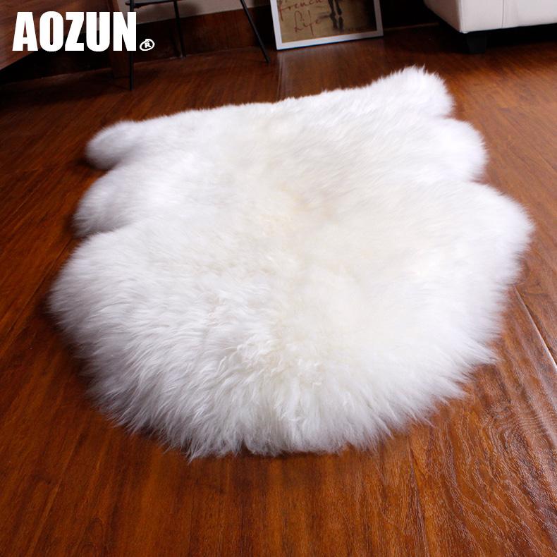 O статуя австралийской шерсти ковер шерсти Диван подушки шерсти эркер подушка всей шерсти овчины фотография гостиной ковер