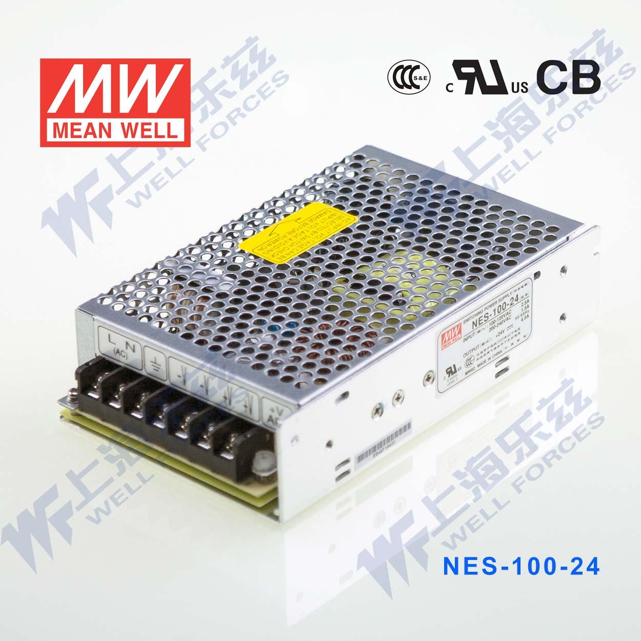 Тайвань следующий широта переключатель источник питания NES-100-24 100W 24V 4.5A [ открыто по голосу sf ]