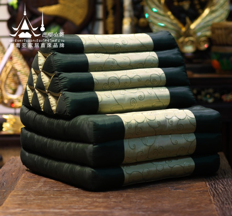 高端泰国三角靠垫 飘窗垫阳台地垫沙发垫 靠枕 SPA酒店