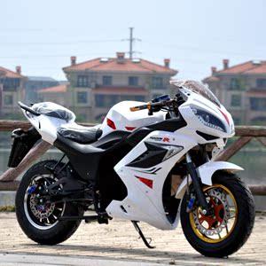 新款地平线R2电动摩托车跑车款代步公路赛趴赛电瓶车大型功率街跑