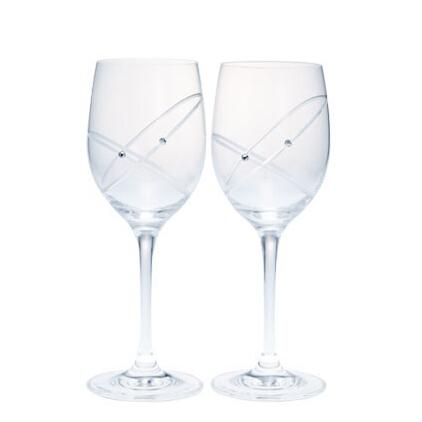 Wedgwood прозрачный кристалл стекло ходули вино чашка алмаз резьба шаблон сейчас в надичии