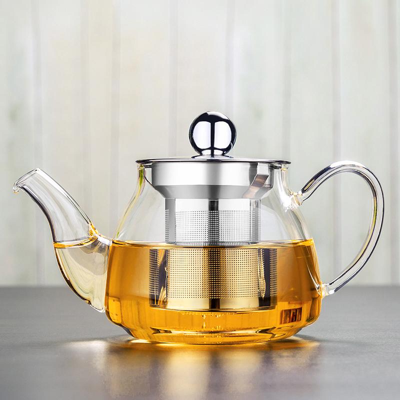 耐熱紅茶茶具泡茶器衝茶器泡茶壺小茶壺茶杯加厚 茶壺 過濾 玻璃
