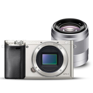Sony/索尼 ILCE-6000 (E50mmF1.8人像套装) A6000 微单相机
