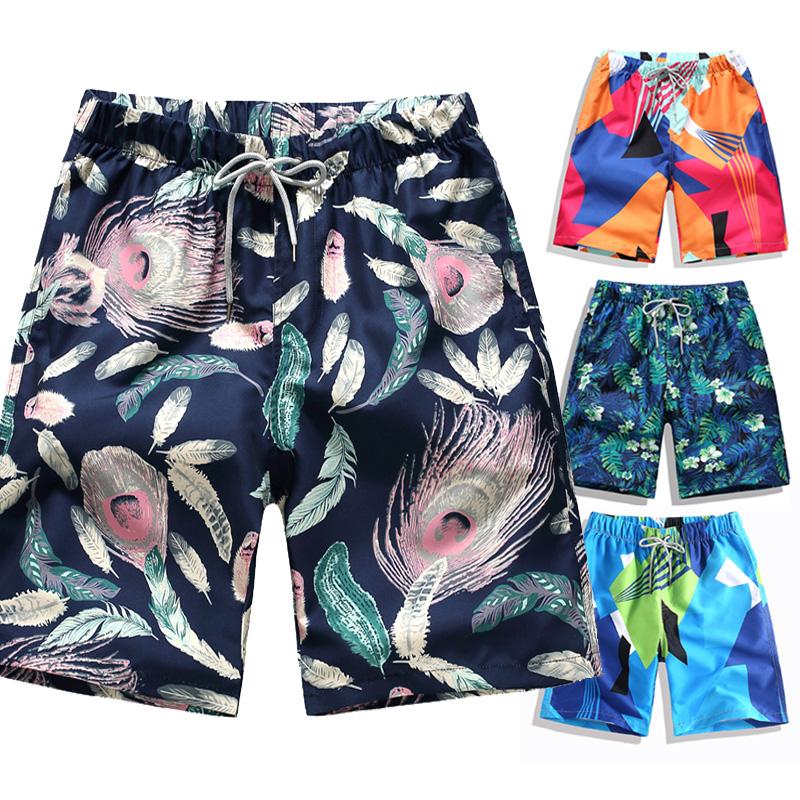 短裤男夏天休闲运动五分大裤衩潮夏季七分宽松情侣速干男士沙滩裤