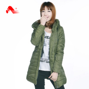 Kang step new winter down coat women long tracksuit woman warm jacket in Korean version of slim coats
