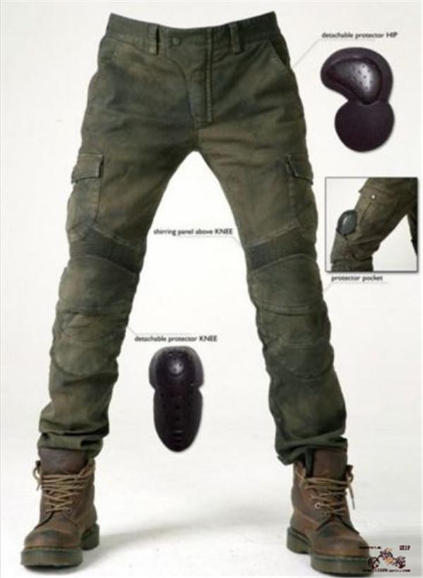 Сша имеется в наличии высококачественный товар U.Bros harley мотоцикл верховая езда брюки джинсы локомотив рыцарь пригодный для носки защитное снаряжение брюки