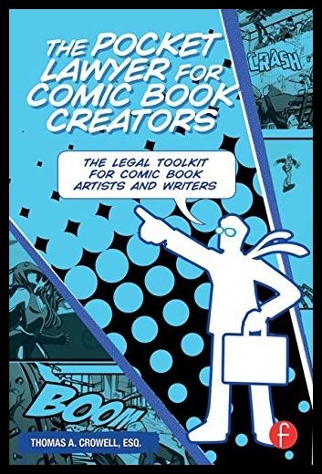 【预售】The Pocket Lawyer for Comic Book Creat