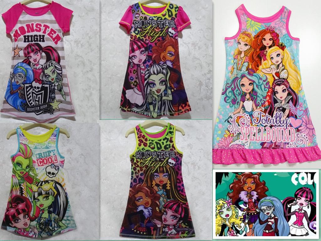к 2015 году нового монстра средней школы, оригинальный монстра высокой платье 6-16