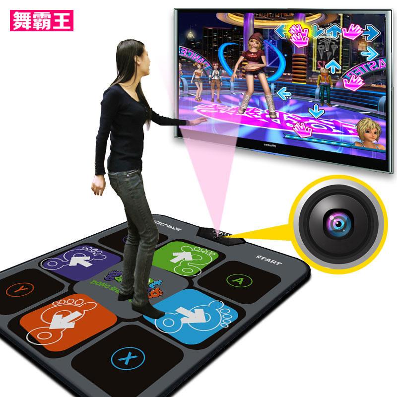 舞霸王 跳舞毯单人 体感减肥机 电视接口电脑两用+家用跳舞机包邮