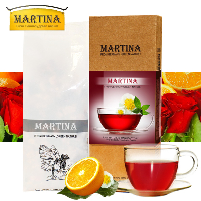 Martina/Tina German imports rose oranges Flowers blended