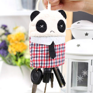 Cheap Blue husbandry supplies automotive interior car keys cartoon key sets buckle Mr Xiong Mao
