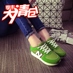Hero Yang Korean letters in the spring shoes mesh breathable sneakers running shoes Forrest student leisure shoes women shoes