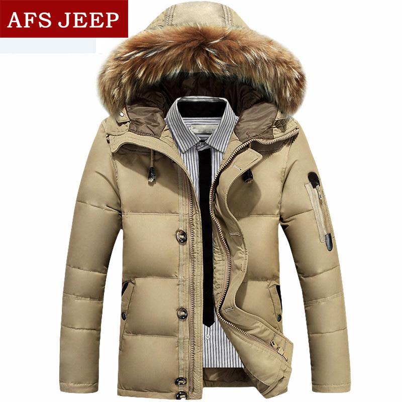 РСПО джип джип 2014 зима вниз куртка мужчин не хватает подлинной новых утолщение в поле мужские куртки на продажу
