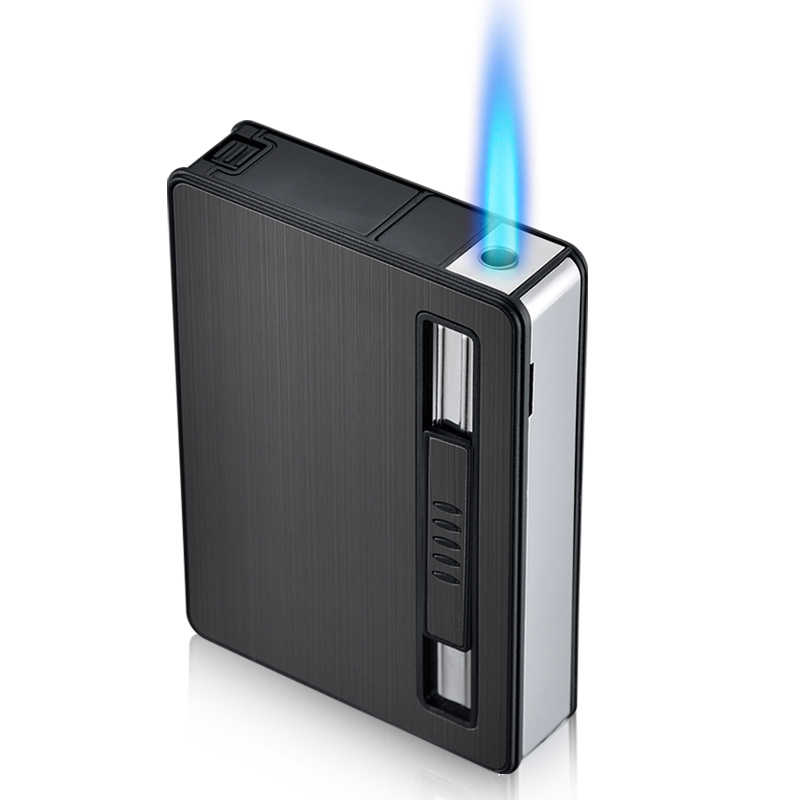 Тонкий дым коробка автоматическая бомба дым группа творческий ветролом зажигалка десять наряд дым коробка портативный ладан дым коробка сделанный на заказ надпись