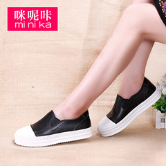 New Lok Fu Ka 2015 fall shoes women-imidazole round lazy shoes asakuchi leisure Korean flat-bottom shoes women''s shoes