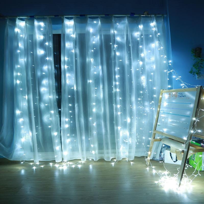 Якорь фон фото горит звезда света льда занавес огни проекта освещения открытый мигающие огни лампа водонепроницаемый