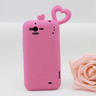 包邮HTC G20手机套G20手机壳 htc S510B硅胶保护套 爱心 G20外壳