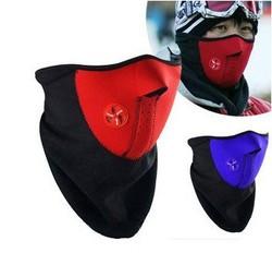 骑行面罩冬季自行车头套户外跑步保暖防风防寒护脸口罩山地车装备