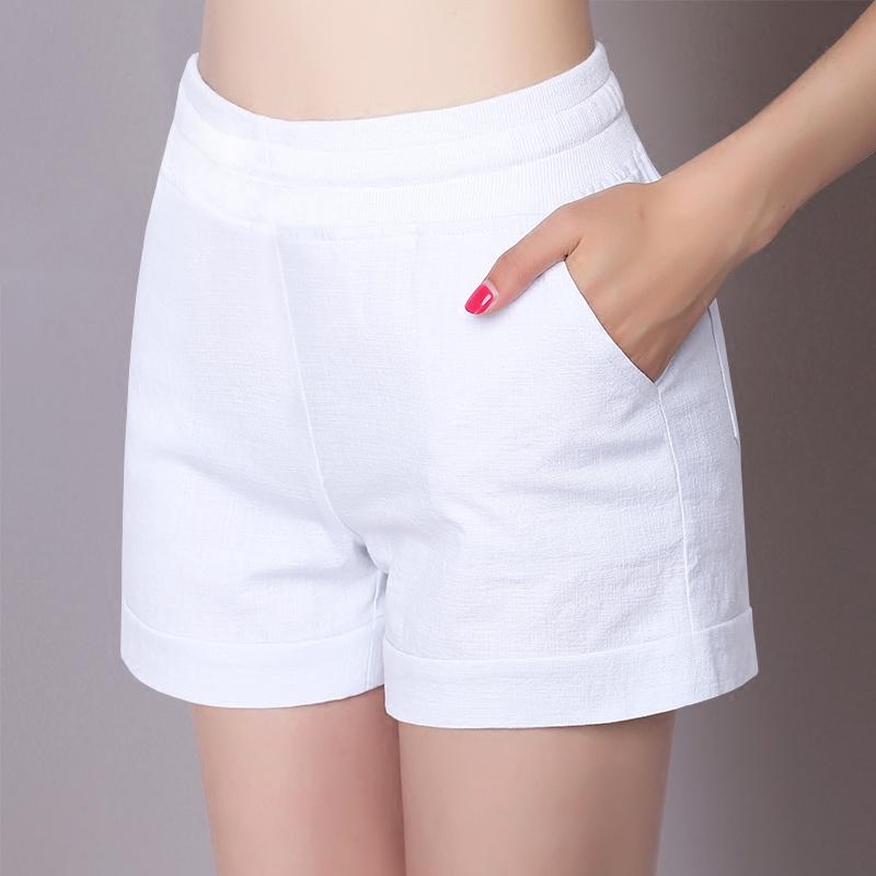Летом 2016 новый тонкий хлопок случайных брюки шорты женщин носить широкий ноги тонкие спорта летом свободные размер горячие брюки