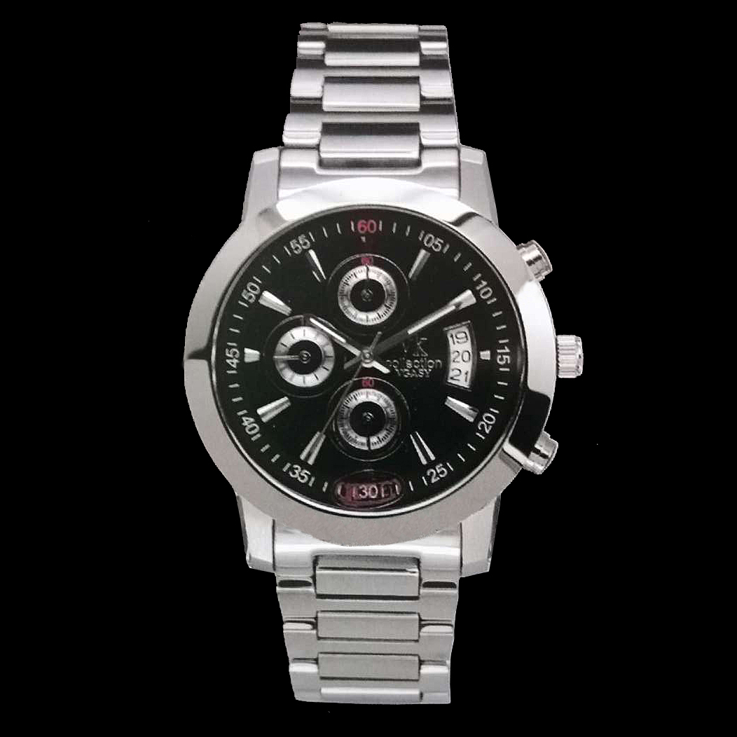 Brand authentic XIAOBAWANG stainless steel watch vgasy watch multi-function movable watch 1513m large dial 1521g