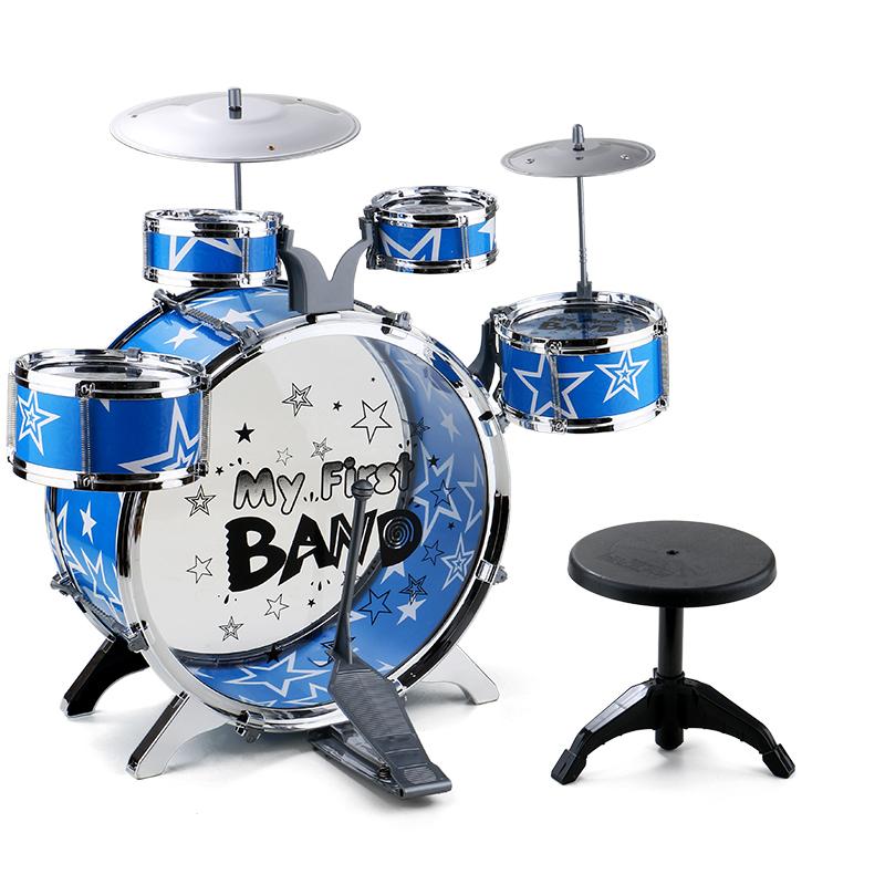 兒童架子鼓玩具寶寶爵士鼓音樂打擊樂器3~6歲益智男孩女孩