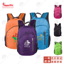 Bag Custom Printing logo training pupils shoulder backpack advertising print Pattern school promotion Small Gifts