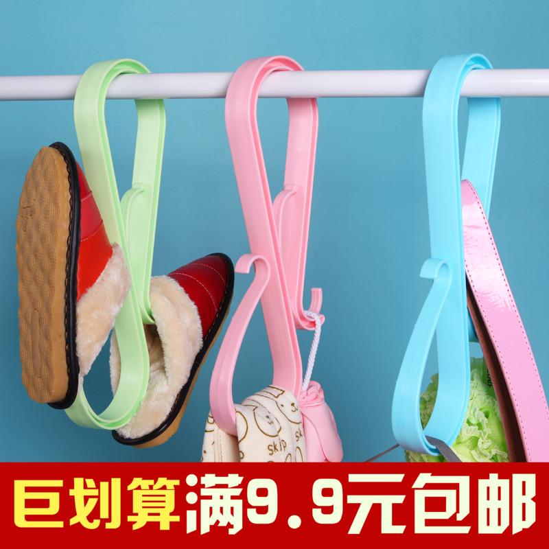 创意家居多功能晾晒夹 优质塑料晒被子架 枕头大夹子 多用防风架