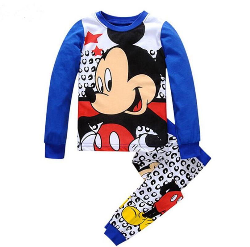 童装儿童长袖长裤纯棉套装空调服