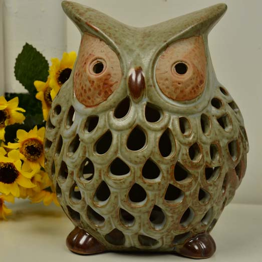 Owl decoration ceramic home living room study office bedroom decoration large Townhouse