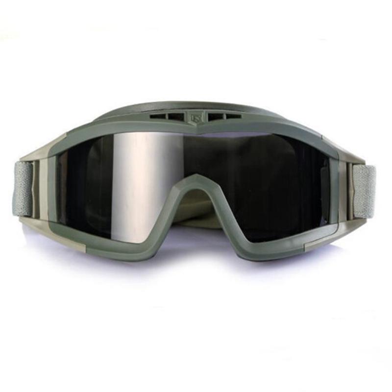 Специальный тип солдаты на открытом воздухе ветролом песок тактический очки военный стрелять забастовка противо бомба очки реальность CS операция взрывозащищенный очки