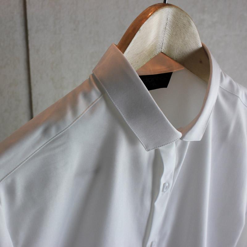 脊椎动物男装 原创韩版经典修身衬衣 商务免烫抗皱长袖白衬衫