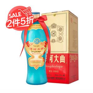 【天猫超市】洋河大曲老天蓝42度 500ml浓香型白酒酒厂直供