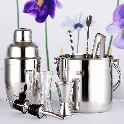 Eagle stainless steel cocktail shaker set 550 nine woolly snow g cup bar tools package mail sent manual