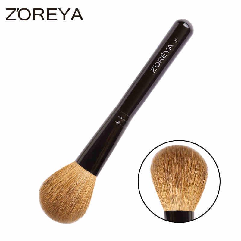 ZOREYA正品羊毛化妝刷散粉刷腮紅刷粉底刷修容高光刷便攜彩妝工具
