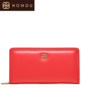 Honggu Hong Gu 2015 counters authentic European fashion ladies leather long clutch bag 1317
