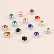 Cool na Korean round magnet without ear-Stud magnet strong magnetic iron boys magnetic earrings 2058