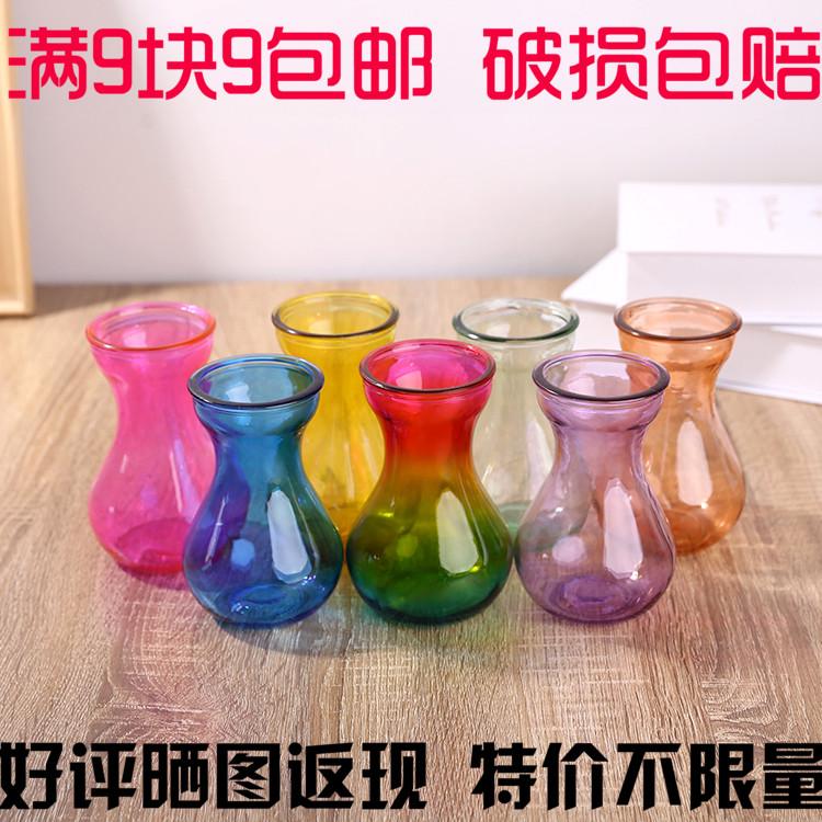 Стекло ваза прозрачный гиацинт cциндапсус золотистый цветочный горшок гостиная комнатный гидропоника вода поддержка завод устройство блюдо спеццена доставка включена