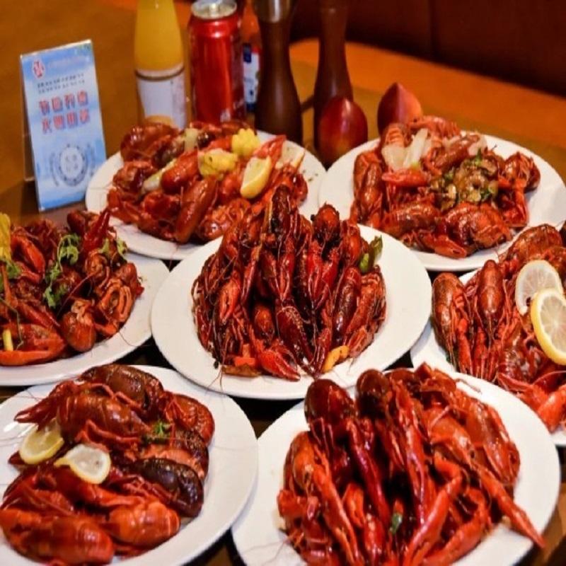 上海新世界丽笙大酒店 小龙虾自助  8种口味畅吃到爽!