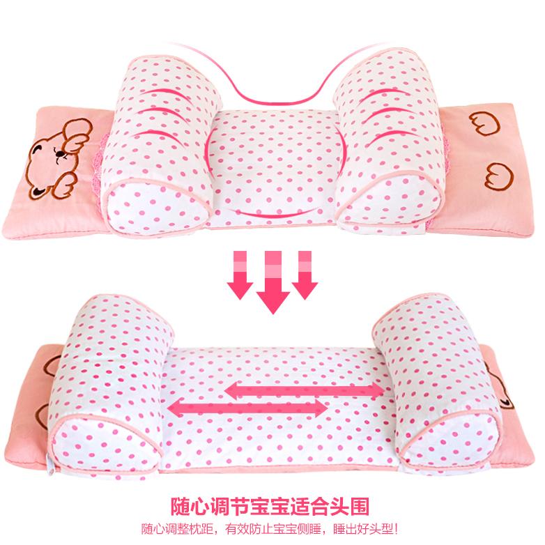 Ребенок подушка противо частичный глава подушка новорожденных 0-1-3 лет ребенок подушка ребенок гречиха подушка лето